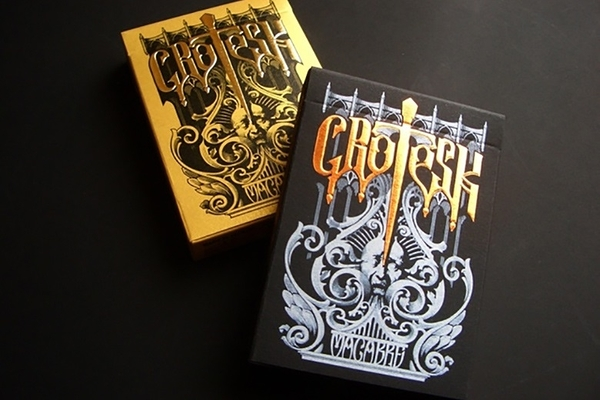 【USPCC 撲克】Grotesk Macabre playing cards