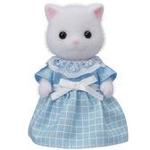 《森林家族-日版》波斯貓媽媽(白)╭★ JOYBUS玩具百貨