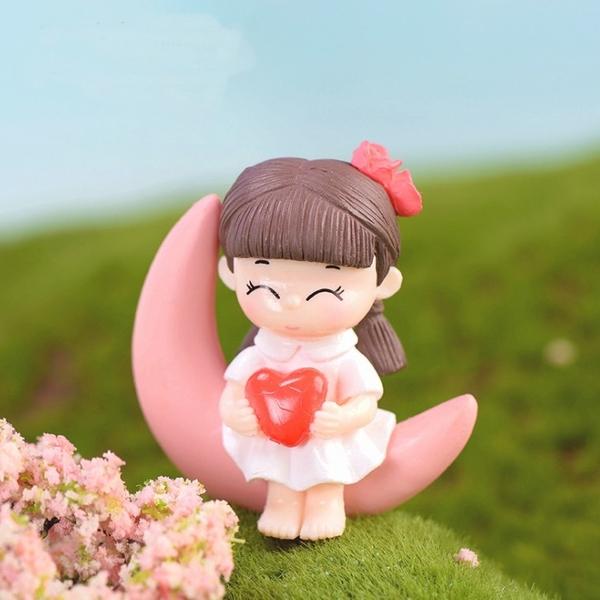 CARMO月亮情侶微景觀 多肉植物盆栽裝飾【A004004】