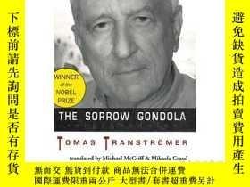 二手書博民逛書店The罕見Sorrow Gondola 悲傷的貢多拉 英文原版Y