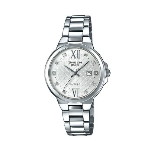 CASIO SHEEN/亮眼耀眼時尚腕錶/SHE-4524D-7AUDR