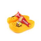 Disney 迪士尼 小熊維尼 涼鞋 花園鞋 黃色 小童 童鞋 D520232 no001 15~20cm