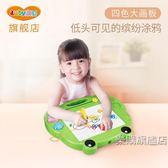 磁性涂鴉板 畫板 寶寶彩色繪畫涂鴉板兒童玩具1-3歲