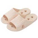 心型排水拖鞋 浴室拖鞋 TC603 RO 37-38 NITORI宜得利家居