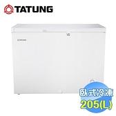大同 Tatung 205公升上掀式冷凍櫃 TR-205FR