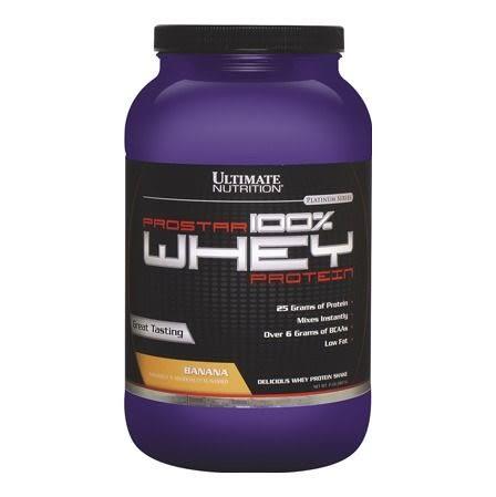 UN Prostar Whey Protein 乳清之星-低脂乳清蛋白2磅(香蕉) (健身 高蛋白) 公司貨