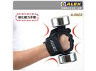 ALEX第二代 強化健力手套-L號(健身 重量訓練  免運≡排汗專家≡