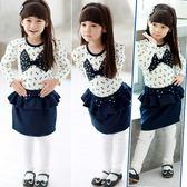 韓版《立體蝴蝶結》甜美小套裝