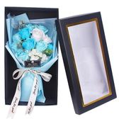 玫瑰花香皂花束禮盒送閨蜜送女生生日禮物浪漫韓國創意小清新