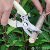 不銹鋼樹枝修枝剪摘果剪花木剪刀粗枝剪果樹花枝剪修花園藝工具剪 新品上新
