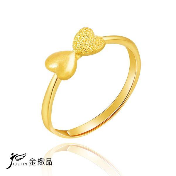 初戀蝴蝶結黃金戒指