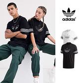 【GT】Adidas Originals 黑/白 短袖T恤 純棉 運動 休閒 上衣 短T 三葉草 FM3897/FM3894