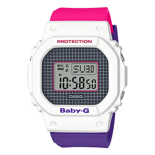 CASIO手錶專賣店 BGD-560THB-7 BABY-G 經典數位顯示電子女錶 樹脂錶帶 防水200米 BGD-560THB-7D