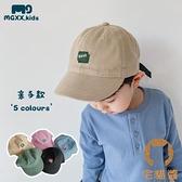 親子短沿鴨舌帽男女童字母棒球帽兒童遮陽帽寶寶帽子【宅貓醬】