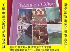 二手書博民逛書店People罕見and Culture(精裝)Y19672