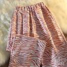 春夏寬鬆休閒褲女高腰垂感闊腿長褲薄款直筒束腳褲子 快速出貨
