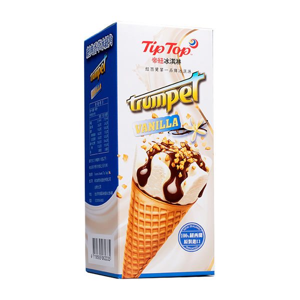Tip Top 帝紐冰淇淋 經典香草冰紐角 (110mL*4支)