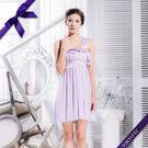 東京衣服 許瑋甯 單肩帶 雙層荷葉小禮服  伴娘服.派對 約會款 淺紫