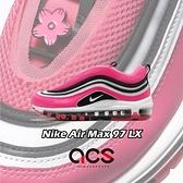 Nike 休閒鞋 Wmns Air Max 97 LX 粉紅 黑 女鞋 復古慢跑鞋 運動鞋【ACS】 CV3411-600