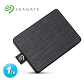 Seagate One Touch 1TB 外接SSD 霧夜黑
