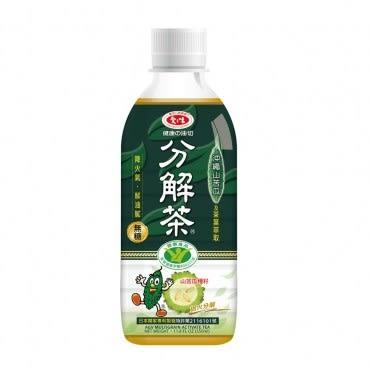 【愛之味】健康油切分解茶350ML(24瓶/箱)*1箱組