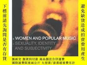 二手書博民逛書店Women罕見And Popular MusicY256260 Sheila Whiteley Routled