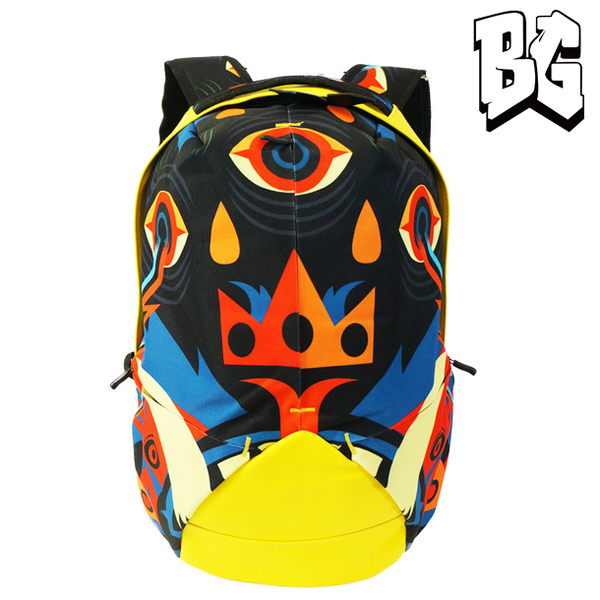 Bistar Galaxy 怪獸臉譜背包