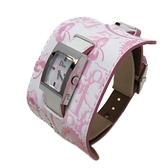 Dior 迪奧 白色牛皮革珍珠母貝手錶 【BRAND OFF】