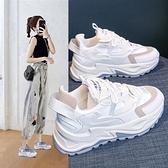 老爹鞋女ins潮2021年夏季新款網面透氣女鞋百搭休閑爆款小白運動快速出貨