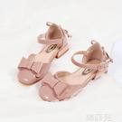 女童公主鞋 春秋款女童公主鞋小女孩皮鞋兒童單鞋高跟鞋中大童寶寶軟底鞋 韓菲兒