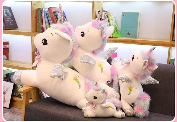 【80公分】幻夢獨角獸娃娃 超萌夢幻玩偶 網紅公仔 聖誕節交換禮物 生日禮物 兒童節禮物
