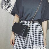 斜挎包女新款韓版簡約小方包百搭學生夏季單肩鍊條包小包包潮 雲雨尚品