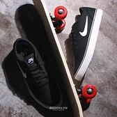 NIKE 休閒鞋 SB CHRON 2 CNVS 黑白 滑板鞋 硬挺帆布 男女 (布魯克林) DM3494-001