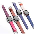 Apple Watch 皮革錶帶 1 2 3 4 5 6代 38 40 42 44 mm 多彩 iwatch 替換帶 運動 替換錶帶 超多色 蘋果