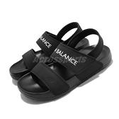 New Balance 涼拖鞋 3601 NB 黑 白 女鞋 夏日拖鞋 涼鞋 魔鬼氈【ACS】 SD3601GBKM