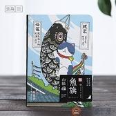 創意生活錄手帳日記貓咪本子記事日程網格筆記本文具【淘夢屋】