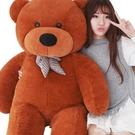 玩偶毛絨玩具公仔泰迪熊貓抱抱熊女布娃娃可愛床上抱枕睡覺特大號玩偶LX 萊俐亞