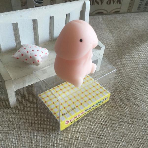【愛愛雲端】日本超萌小丁丁 2入  最新療癒 舒壓 祈願 發洩 惡搞小GG捏捏樂 盒裝