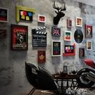 復古個性西餐廳墻面裝飾品掛飾網咖冷飲店酒吧墻壁飾掛件鹿頭墻飾 【618特惠】