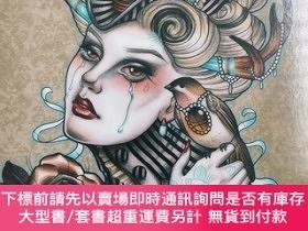 二手書博民逛書店The罕見Coloring Book Project: A Collection By 100 Artists F