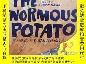 二手書博民逛書店英文原版罕見少兒繪本故事 The Enormous Potato
