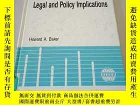 二手書博民逛書店space罕見debris: legal and policy