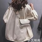 寬肩帶斜挎ins網紅小包包女包2020新款高級感韓版時尚百搭單肩包 小艾時尚