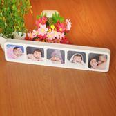 制作兒童照片相框擺台卡通可愛五孔相架影樓定制沖印相片創意桌擺igo 至簡元素