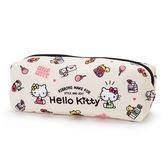 Sanrio HELLO KITTY繽紛圖案輕量筆袋(MIMMY小物)★funbox★_443841