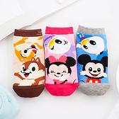 迪士尼好朋友色塊直版親子襪-米老鼠系列 童襪 襪子