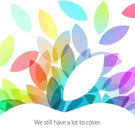 Invitations go out for Apple's October 22 press event