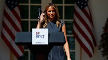 Melania Trump Marks One Year Of 'Be Best' Anti-Cyberbullying Initiative