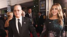 Tom Hanks, cocktail waiter? The Golden Globes moments you didn't see on TV.