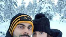 Photos: Anushka Sharma – Virat Kohli Look Heavenly As They Enjoy Their Winterland  Honeymoon